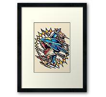 Sharpedo Framed Print