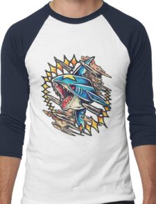 Sharpedo Men's Baseball ¾ T-Shirt