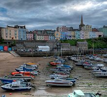 Tenby Harbour Pembrokeshire 3 by Steve Purnell