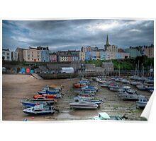 Tenby Harbour Pembrokeshire 3 Poster