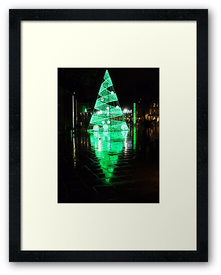 A green Christmas by Kate Fortune