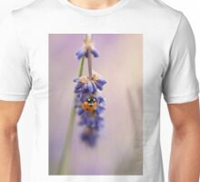 Lavender and Ladybird Unisex T-Shirt