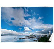 Tenby Harbour Pembrokeshire 4 Poster