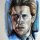Willem Dafoe,featured in The Group, by Françoise  Dugourd-Caput