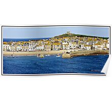 """"""" St Ives Island"""" Poster"""