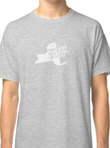 New York is a state of mind - Small white Classic T-Shirt