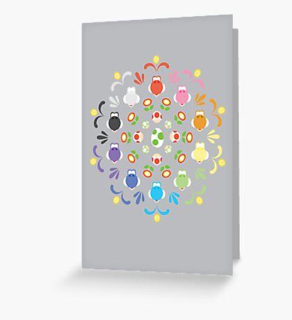 Yoshi Prism Greeting Card