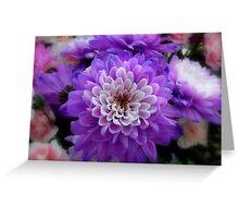Soft Purple Greeting Card