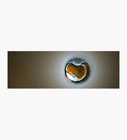 Amber Sparkling Photographic Print