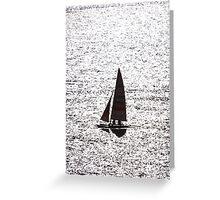 Dimension - Human being and sea - Ser humano y el oceano II Greeting Card