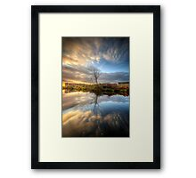 Suburban Sunrise 7.0 Framed Print