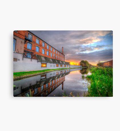 3M Building Sunrise Canvas Print