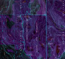 USGS Topo Map Washington State WA Mount Wow 242599 2000 24000 Inverted Sticker