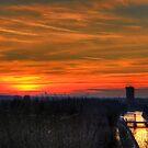 Leiden Sunset by Tom Gomez