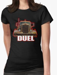 Duel Womens Fitted T-Shirt