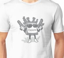 Delete Button Unisex T-Shirt