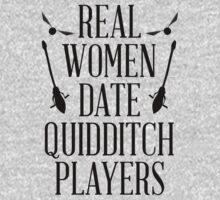 Real Women Date Quidditch Players by radquoteshirts