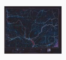 USGS Topo Map Washington State WA Walla Walla 244506 1953 250000 Inverted Baby Tee