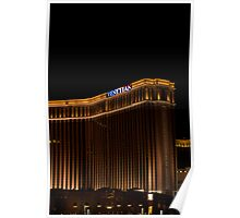 Venetian Hotel and Casino on Veterans Day 2011, Tall Shot Poster