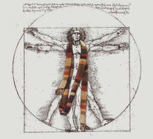 Da Vinci Meets the Doctor (for Light Tshirts) T-Shirt