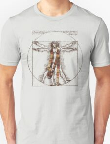 Da Vinci Meets the Doctor (for Light Tshirts) T-Shirt