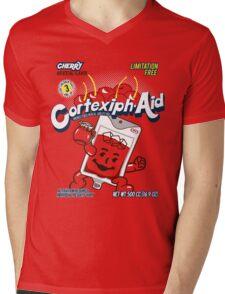 Cortexiph-Aid Mens V-Neck T-Shirt