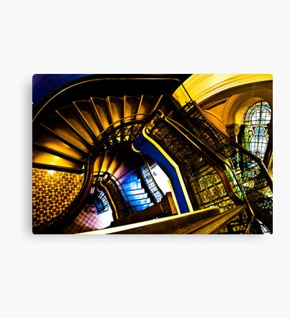 How elegance Victoria Name...On 3 Featured Works Canvas Print
