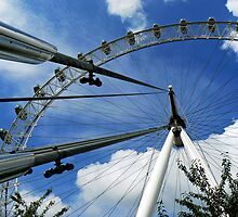 London Eye by David Bradbury