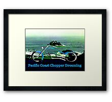 Pacific Coast Chopper Dreaming1986 The MUSEUM RedBubble Gifts Framed Print
