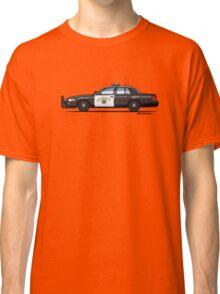 California Highway Patrol Ford Crown Victoria Police Interceptor Classic T-Shirt