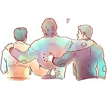 Team Free Will Colors Photographic Print