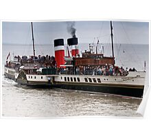 Waverley Paddle Steamer Poster
