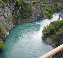 Kawarau River Gorge by Laurel Talabere