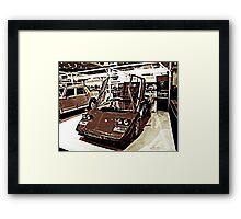 'Bulls Eye' Framed Print