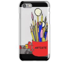 ARTISTE TOOLS iPhone Case/Skin