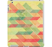 Triangles pattern iPad Case/Skin