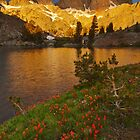 Minaret Lake Sunrise by Nolan Nitschke