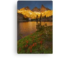 Minaret Lake Sunrise Canvas Print