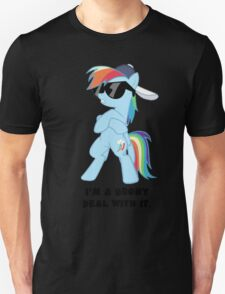 I'm a Brony Deal with it. (Rainbow Dash) - My little Pony Friendship is Magic T-Shirt