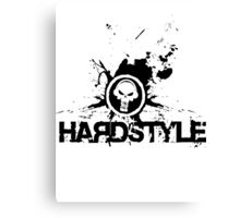 Hardstyle Logo (Smoke Shach) Canvas Print