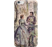 Jane Eyre illustration iPhone Case/Skin
