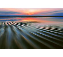 Rippling Shore Photographic Print