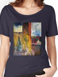 Woman Near Window Women's Relaxed Fit T-Shirt
