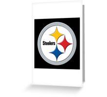 Steelers Logo Greeting Card