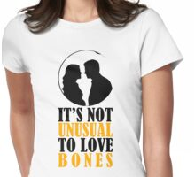 Not Unusual - Bones Womens Fitted T-Shirt