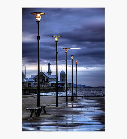 Early Morning Light over Cunningham Pier Photographic Print