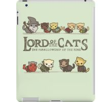 The Furrlowship of the Ring iPad Case/Skin