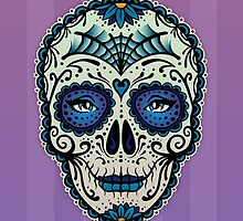 Sugar Skull (Calavera) by Adam Miconi by Adam Miconi