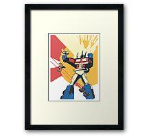 Transformers 1  Framed Print