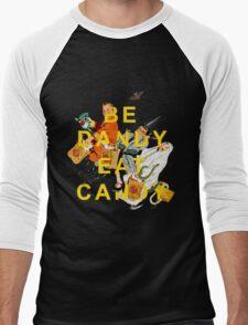 Be Dandy Eat Candy Men's Baseball ¾ T-Shirt